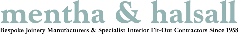 Mentha & Halsall, Quality Shopfitters